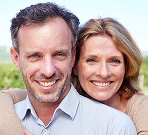 Richardson Dental Implants Couple smiling